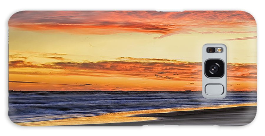 Beach Galaxy S8 Case featuring the photograph Wind Swept Beach by Phill Doherty