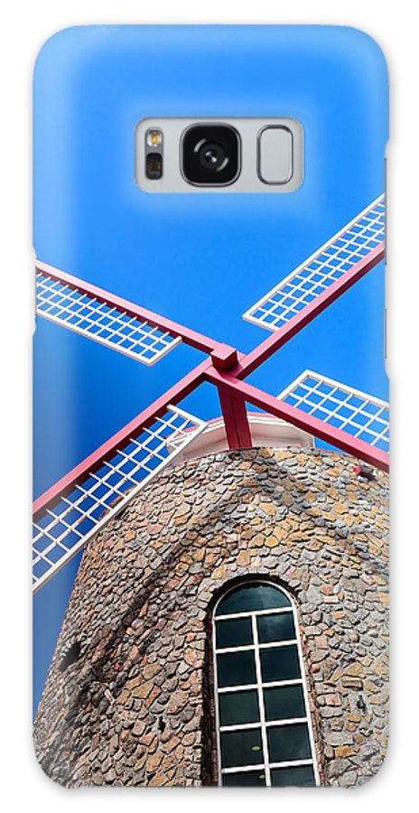 Landscape Galaxy S8 Case featuring the photograph Windmill by AE Jones
