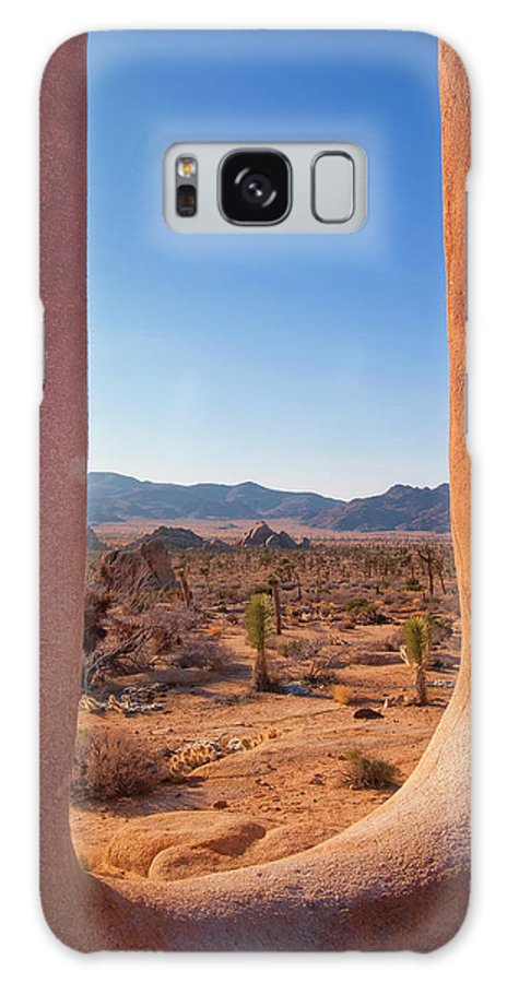 Joshua Tree National Park Galaxy S8 Case featuring the Window Into Joshua Tree National Park by Sandra Selle Rodriguez