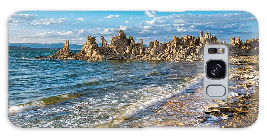 Landscape Galaxy S8 Case featuring the photograph Windy Afternoon At Mono Lake by Mimi Ditchie