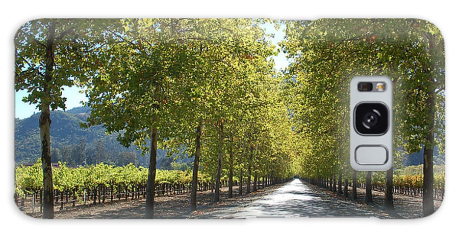 Napa Galaxy Case featuring the photograph Wine Country Napa by Suzanne Gaff