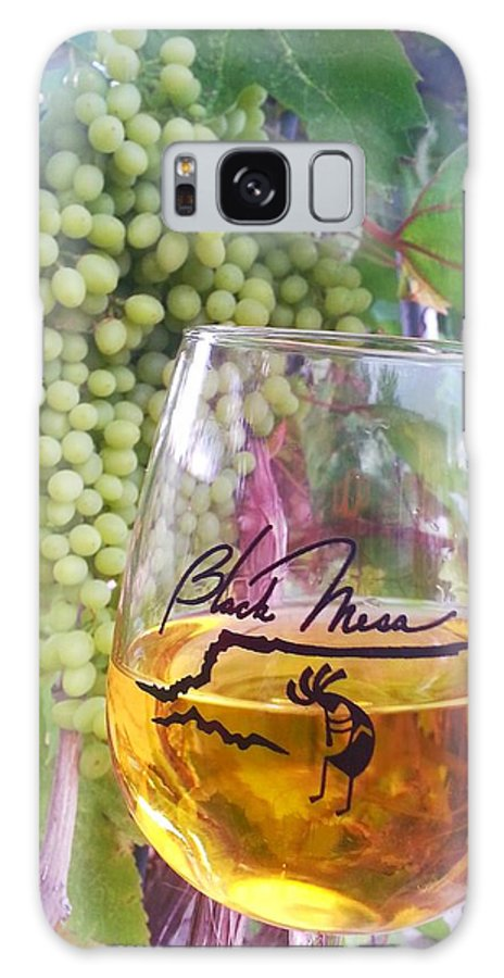 Grapes Galaxy S8 Case featuring the photograph Wine Time by Dan Vallo