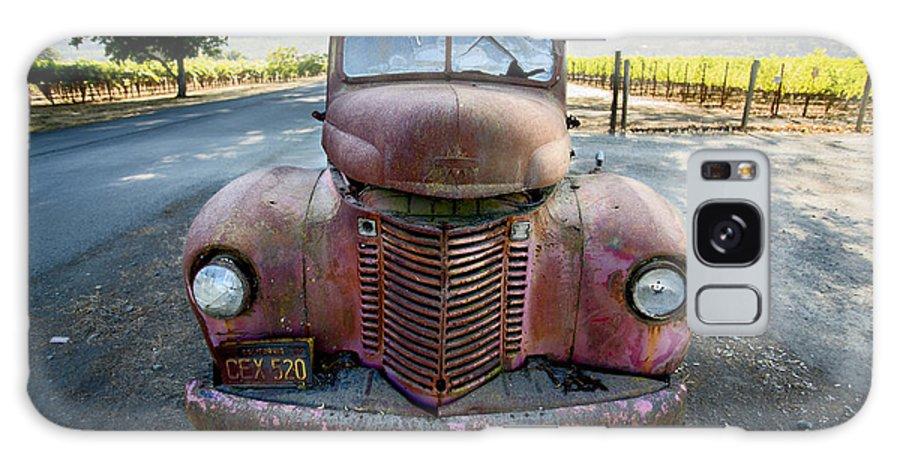 Wine Truck Galaxy S8 Case featuring the photograph Wine Truck by Jon Neidert