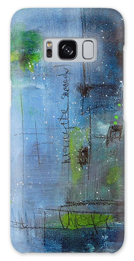 Abstract Painting Galaxy S8 Case featuring the painting Winter 2 by Nicole Nadeau