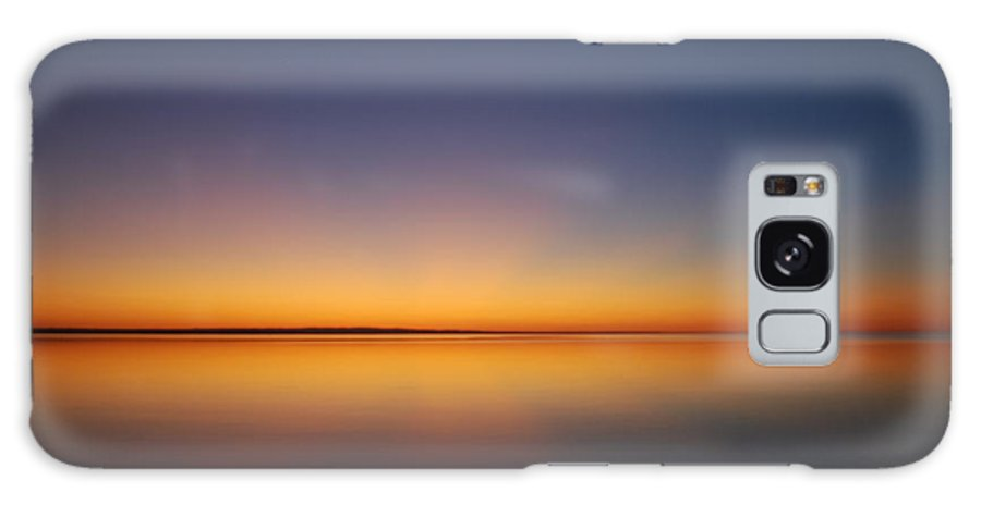 Sunset Galaxy S8 Case featuring the photograph Winter Lake Sunset by Rajash Massey