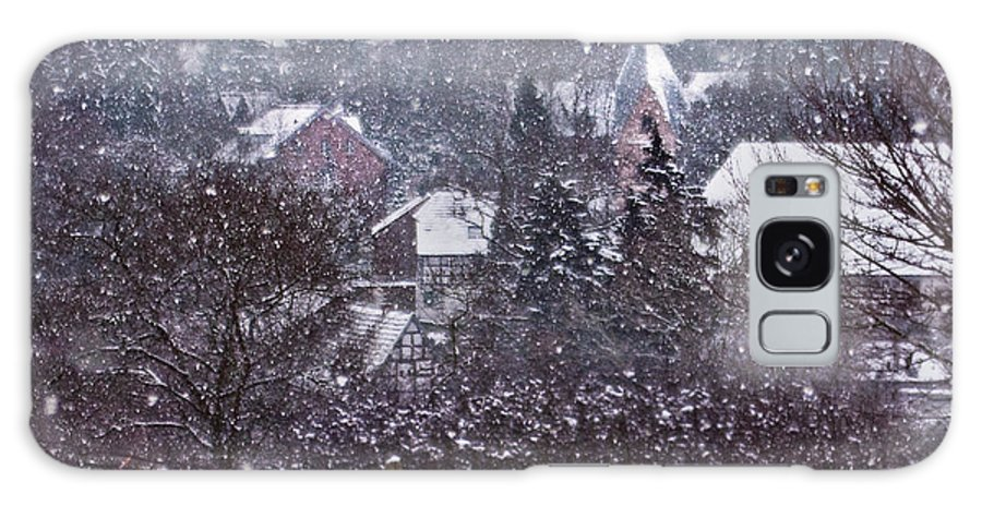 Winter Galaxy S8 Case featuring the photograph Winter Magic by Maria Ismanah Schulze-Vorberg