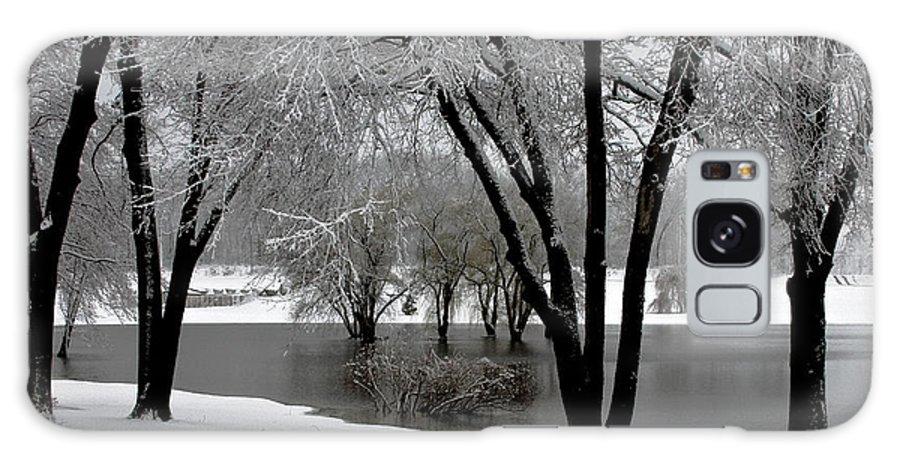 Battle Creek Michigan Galaxy S8 Case featuring the photograph Winter Morning by Sennie Pierson