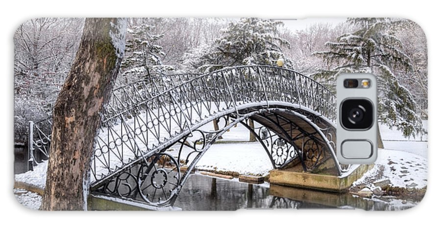 Bridge Galaxy S8 Case featuring the photograph Winter Scenic by Denis Tangney Jr