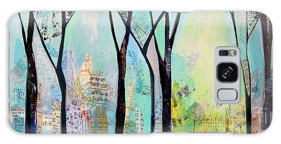 Winter Galaxy S8 Case featuring the painting Winter Wanderings II by Shadia Derbyshire