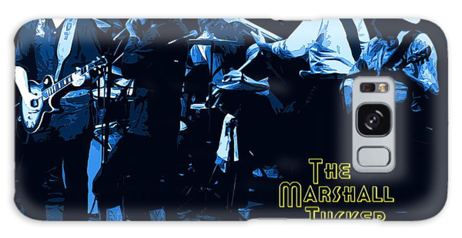Marshall Tucker Band Galaxy S8 Case featuring the photograph Winterland Blues With The Marshall Tucker Band 1976 by Ben Upham