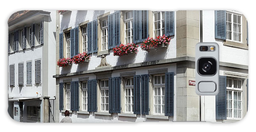 Winterthur Galaxy S8 Case featuring the photograph Winterthur Old Town by Ros Drinkwater