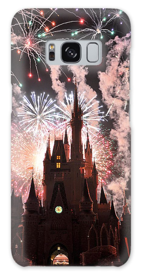 Wdw Galaxy S8 Case featuring the photograph Wishes In The Dark by Jeffrey Stolzberg