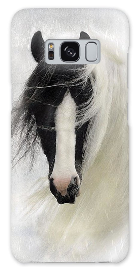 Horses Galaxy S8 Case featuring the photograph Wisteria by Fran J Scott