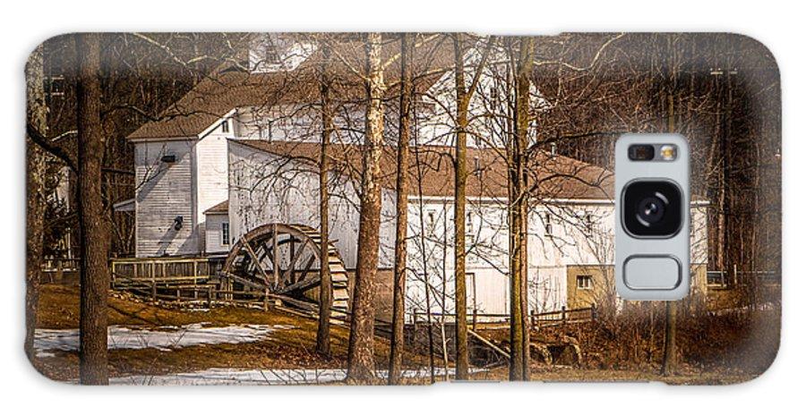 Wolcott Mill Galaxy S8 Case featuring the photograph Wolcott Mill by Grace Grogan