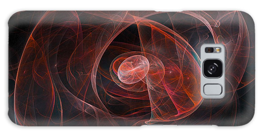 Abstract Galaxy S8 Case featuring the photograph Womb I by Ronda Broatch