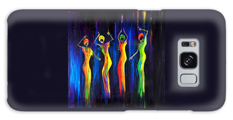 Women Paintings Galaxy S8 Case featuring the painting Womens Day Celebration In South Africa by Marietjie Henning