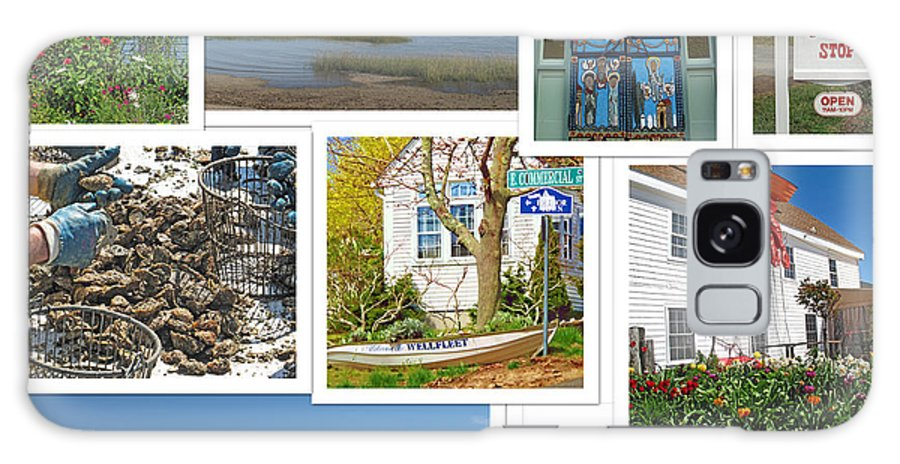 Collage Galaxy S8 Case featuring the photograph Wonderful Wellfleet by Barbara McDevitt