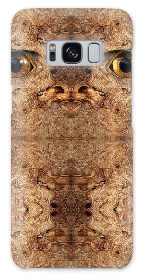 Wood Galaxy S8 Case featuring the digital art Woody 50 by Rick Mosher