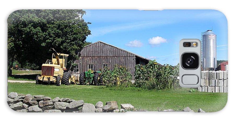 Farm Galaxy S8 Case featuring the photograph Working Farm by Loretta Pokorny