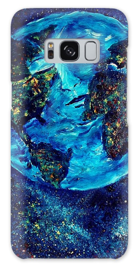 World Galaxy S8 Case featuring the painting World Peace by Robin Monroe