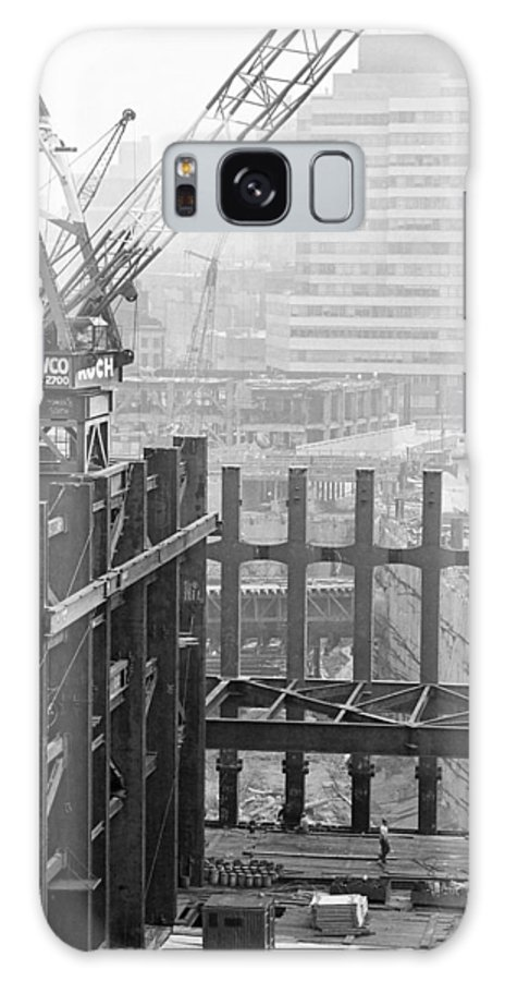 Wtc Galaxy S8 Case featuring the photograph World Trade Center by William Haggart