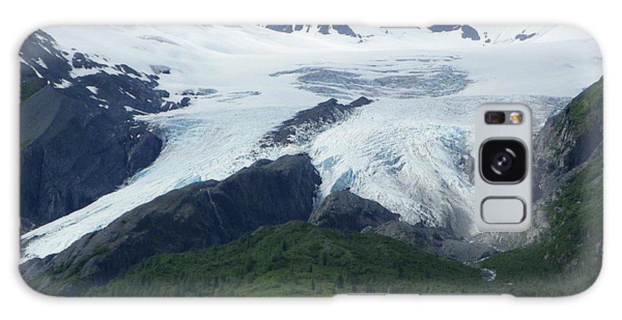 Glacier Galaxy S8 Case featuring the photograph Worthington Glacier by Jennifer Kimberly