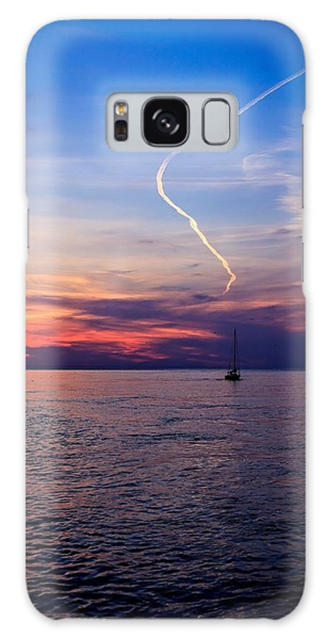 Water Galaxy S8 Case featuring the photograph Writing In The Sky by Jim Koniar