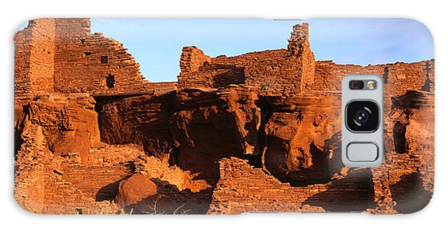 Arizona Galaxy S8 Case featuring the photograph Wupatki Sunrise 1 by Tom Daniel