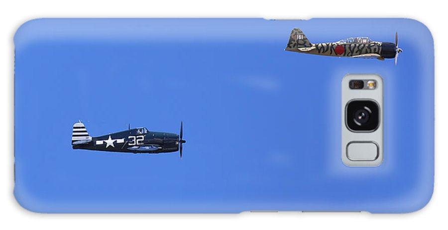 Grumman Galaxy S8 Case featuring the photograph Wwii Planes by Paul Fell