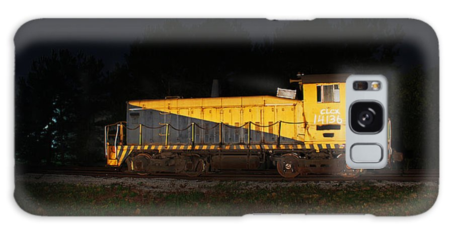 Train Galaxy S8 Case featuring the photograph Yard Work by Will Jordan