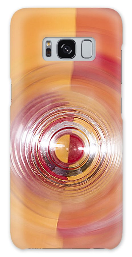 Yellow Galaxy S8 Case featuring the photograph Yellow And Red Abstraction by Shawn Johnson