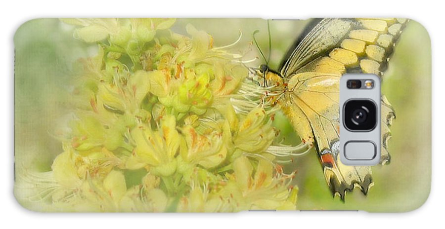 Butterfly Galaxy S8 Case featuring the photograph Yellow On Yellow by David and Carol Kelly