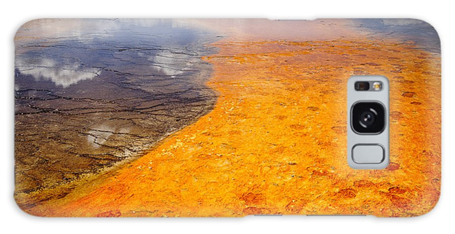 2011 Galaxy S8 Case featuring the photograph Yellowstone - The Elements by Andy-Kim Moeller