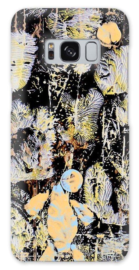 Big Foot Galaxy S8 Case featuring the painting Yeti by Yuriy Vekshinskiy
