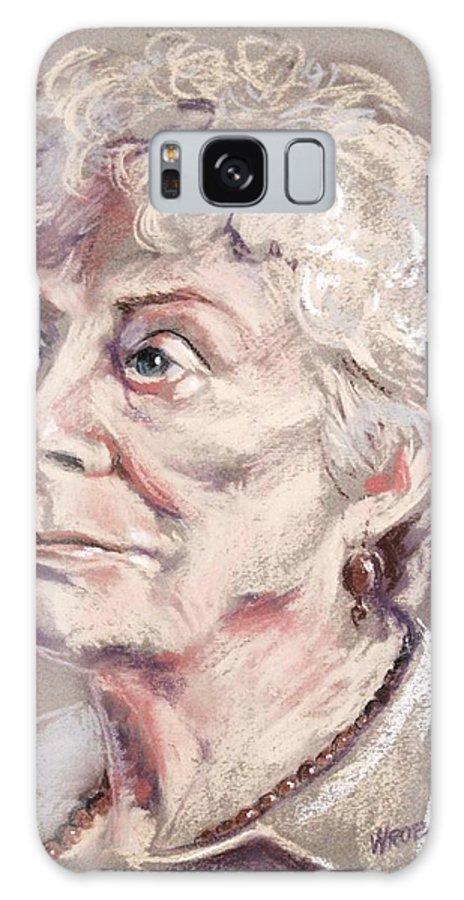 Pastel Galaxy S8 Case featuring the painting Young At Heart by Peggy Wrobleski