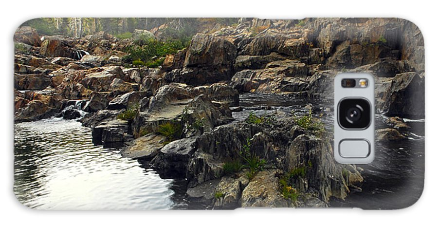 Yuba River Galaxy S8 Case featuring the photograph Yuba River Rocks by Donna Blackhall