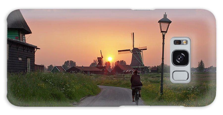 North Holland Galaxy Case featuring the photograph Zaanse Schans Windmills by Ivan