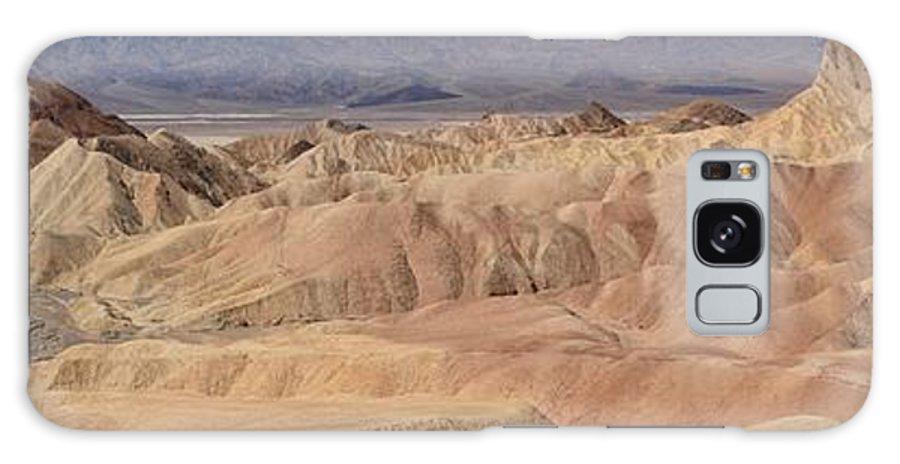Zabriskie Point Galaxy S8 Case featuring the photograph Zabriskie Point Panorama by Adam Jewell