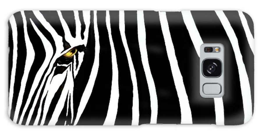 Zebra Galaxy S8 Case featuring the photograph Zebressence by Dan Holm
