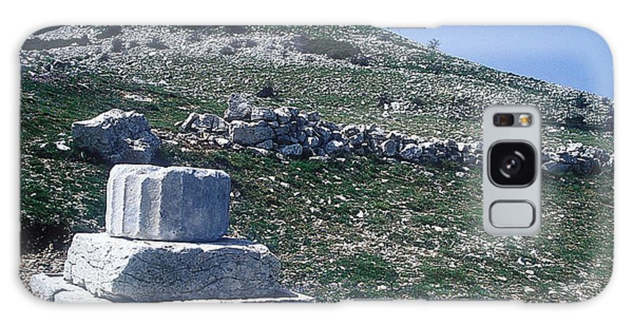 Zeus Lykaios Temple Galaxy S8 Case featuring the photograph Zeus Lykaios Temple by Andonis Katanos