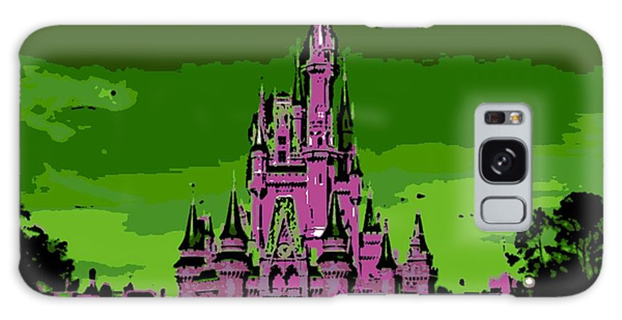 Disney World Galaxy S8 Case featuring the photograph Castle Of Dreams by George Pedro