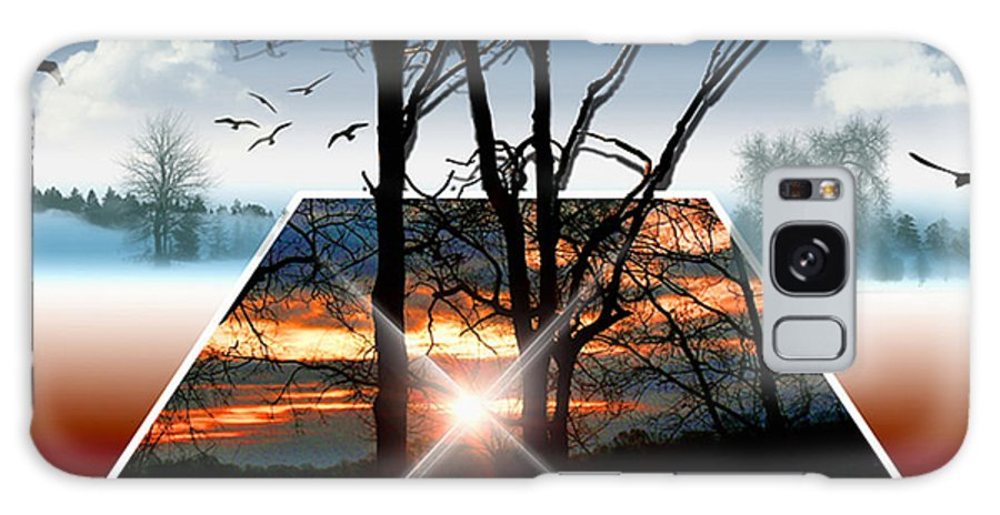 Sunrise Galaxy S8 Case featuring the photograph Into Another Dimension by Ericamaxine Price