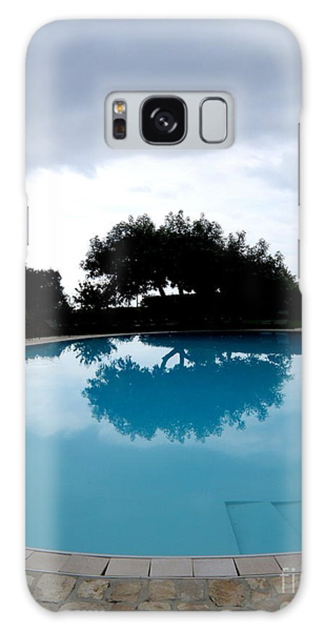 Water Galaxy S8 Case featuring the photograph Tree At The Pool On Amalfi Coast by Tanya Searcy