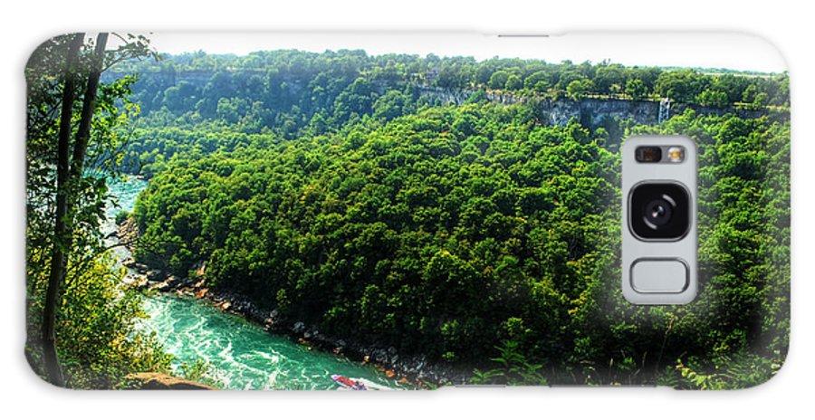 Galaxy S8 Case featuring the photograph 007 Niagara Gorge Trail Series by Michael Frank Jr