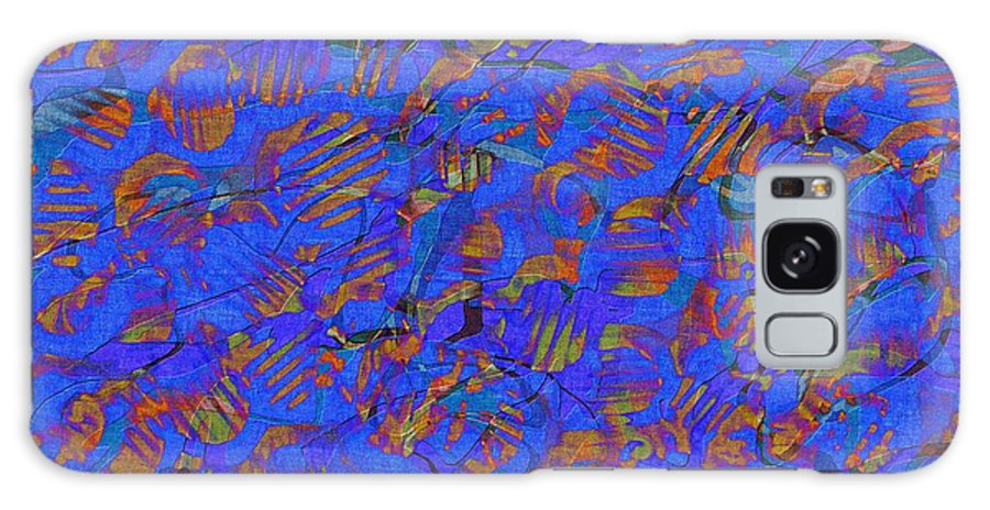 Abstract Galaxy S8 Case featuring the digital art 0539 Abstract Thought by Chowdary V Arikatla