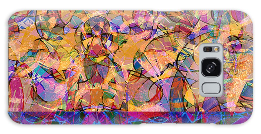 Abstract Galaxy S8 Case featuring the digital art 0672 Abstract Thought by Chowdary V Arikatla