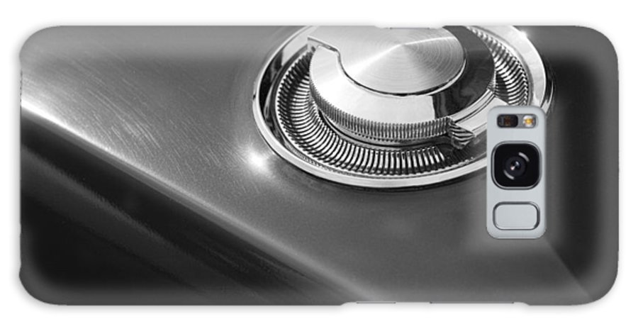 1966 Galaxy S8 Case featuring the photograph 1968 Dodge Charger Fuel Cap by Gordon Dean II