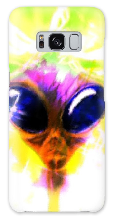 Illustration Galaxy S8 Case featuring the photograph Alien, Artwork by Victor Habbick Visions