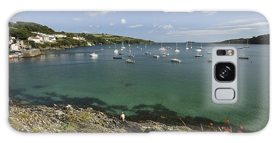 Blue Galaxy S8 Case featuring the photograph Bay Beside Glandore Village In West by Trish Punch