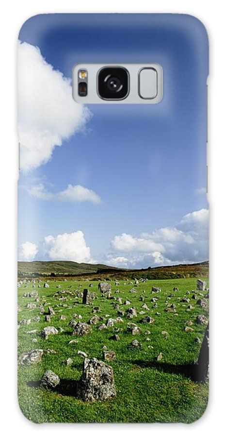 Archeology Galaxy S8 Case featuring the photograph Beaghmore Stone Circles, Co. Tyrone by The Irish Image Collection